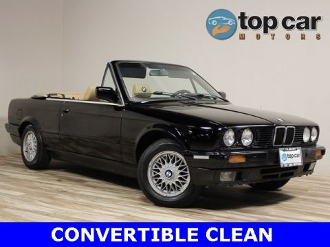 Pre-Owned 1991 BMW 3 Series 325i RWD 2D Convertible